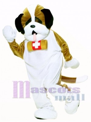 Cute Deluxe Puppy Dog Mascot Costume Animal