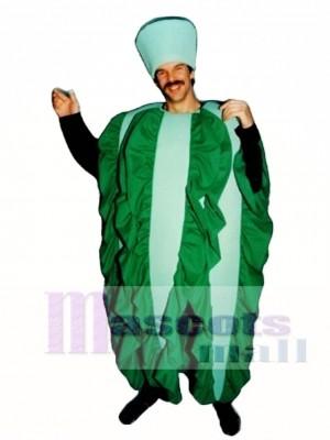 Leaf Lettuce Mascot Costume Vegetable