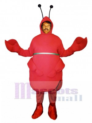 Red Beetle Mascot Costume Insect
