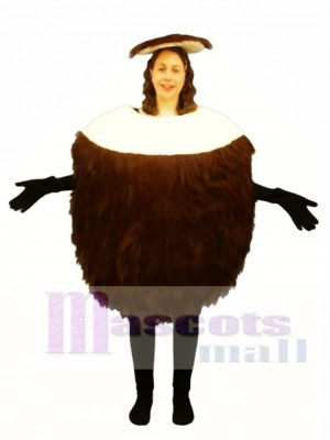 Coconut Mascot Costume Fruit