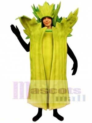 Celery Mascot Costume Vegetable