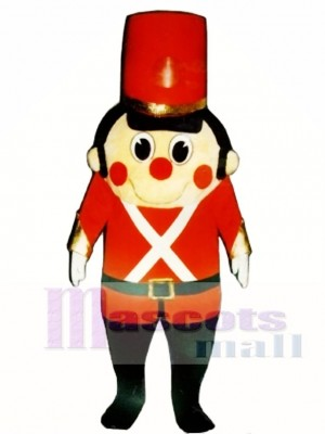 Madcap Toy Soldier Mascot Costume Christmas Xmas