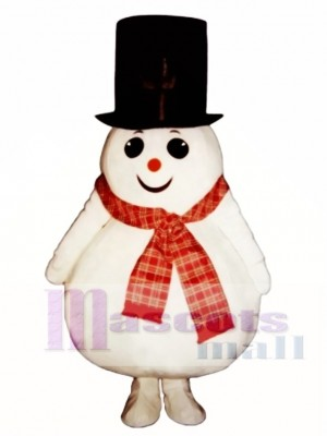 Madcap Snow Boy Mascot Costume Christmas Xmas