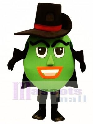 Spanish Olive Mascot Costume Plant