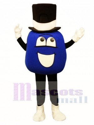 Madcap Blueberry Mascot Costume Plant