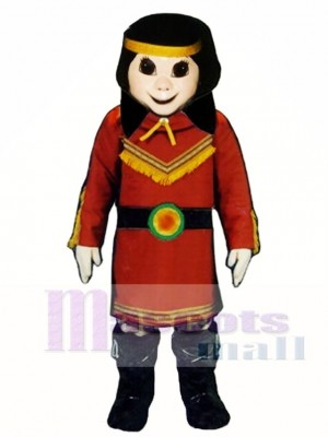 Native American Princess Mascot Costume People