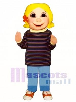 Girl Mascot Costume People