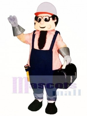 Working Man Mascot Costume People