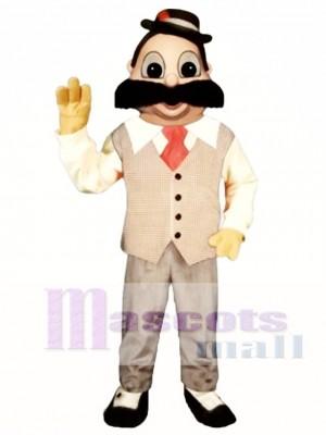 Barber Mascot Costume People