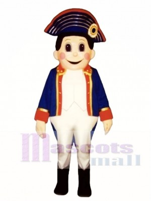 Colonial Boy Mascot Costume People