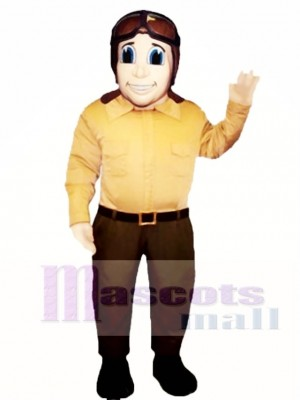 Fly Boy Mascot Costume People
