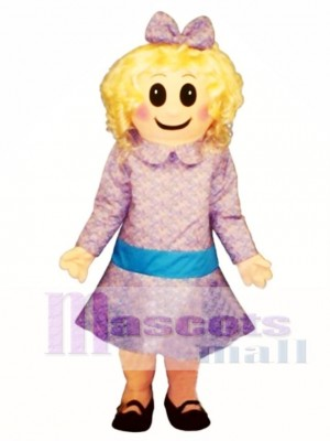 Satin Doll Mascot Costume People