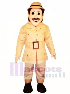 Safari Sam Mascot Costume People