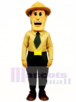Warden Walt Mascot Costume People