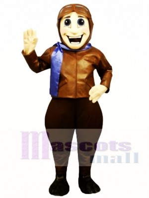 Perry Pilot Mascot Costume People