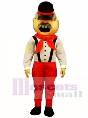 Robbie Reb Mascot Costume People