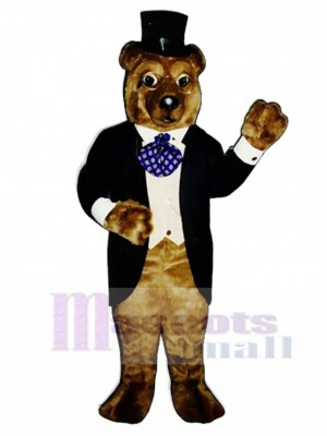 New Theodore Bruin Bear Mascot Costume Animal