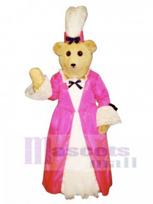 Cute Desiree Duebear Bear Mascot Costume Animal