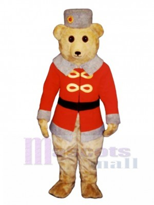 Cute Casimir Bearcovich Bear Mascot Costume Animal