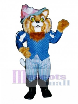 Cute Sir Thomas Boots Cat Mascot Costume Animal