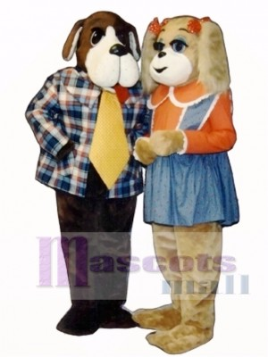 Cute Alfred Arf Dog Mascot Costume Animal