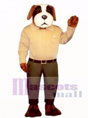 Cute Sheriff Snoop Dog Mascot Costume Animal
