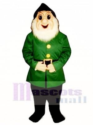 Christmas Elf with Glasses Mascot Costume Christmas Xmas