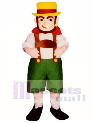O'Leary Leprechaun Mascot Costume People