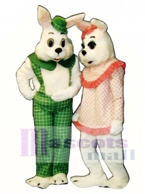Easter Eggbert Bunny Rabbit Mascot Costume Animal