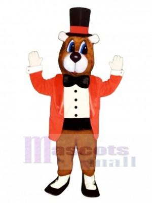 Cute Dancing Bear Mascot Costume Animal