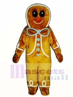 Gingerbread Boy Mascot Costume Christmas Xmas