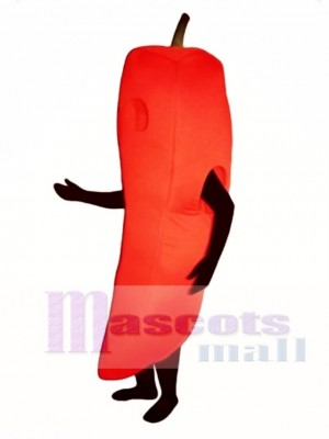 Chili Pepper Mascot Costume Vegetable