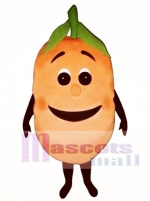 Peachie Mascot Costume Fruit