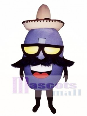 Mexican Jumping Bean Mascot Costume Vegetable