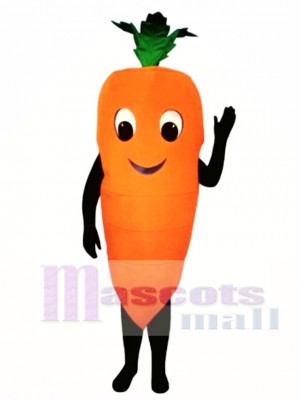 Carrot Mascot Costume Vegetable