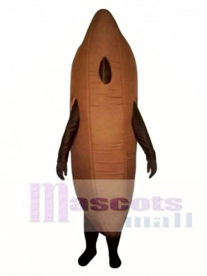 Vanilla Bean Mascot Costume Vegetable