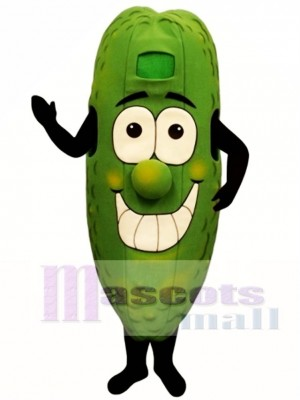 Dilly Cucumber Mascot Costume Plant