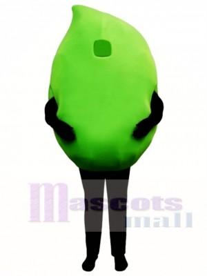 Big Lime Mascot Costume Plant