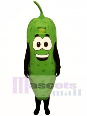 Pickle with Stem Mascot Costume Vegetable