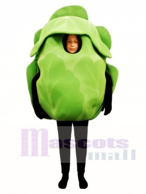 Iceberg Lettuce Mascot Costume Vegetable