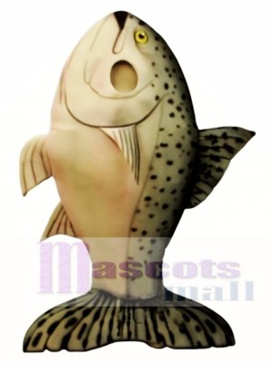 Salmon Mascot Costume Animal