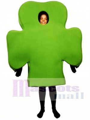 Shamrock Mascot Costume Plant
