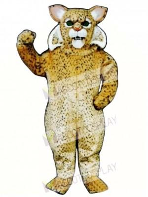 Cute Bobcat Cat Mascot Costume Animal