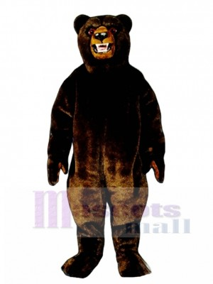 Grizzly Bear Mascot Costume Animal