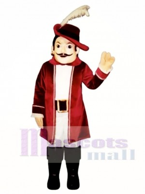 Cavalier Mascot Costume People