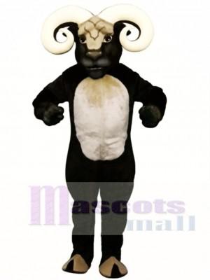 Cute Blocking Ram Mascot Costume Animal