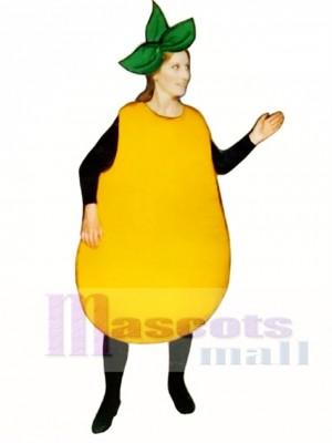 Pear Mascot Costume Fruit