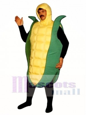 Corn Mascot Costume Vegetable