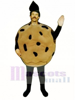 Chocolate Chip Cookie Mascot Costume