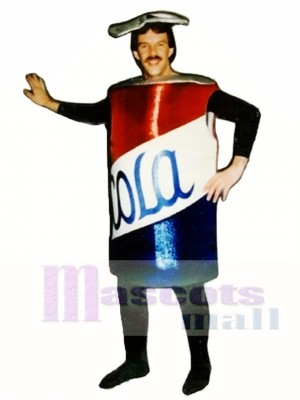 Cola Can Mascot Costume